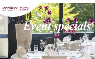 Event Specials in den Mövenpick Hotels