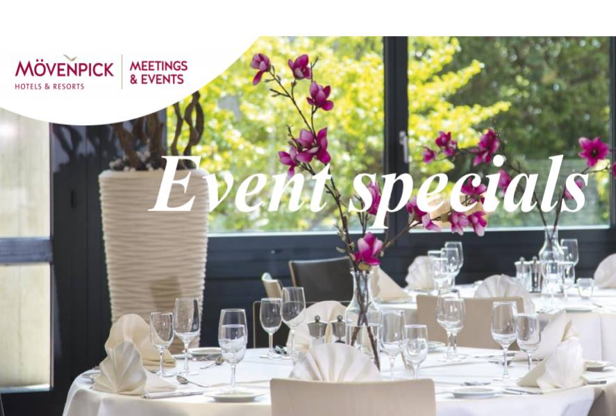 Event Specials in den Mövenpick Hotels